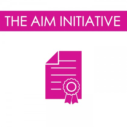 THE AIM INITIATIVE
